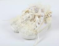 Dantelli Beyaz Ayakkabı